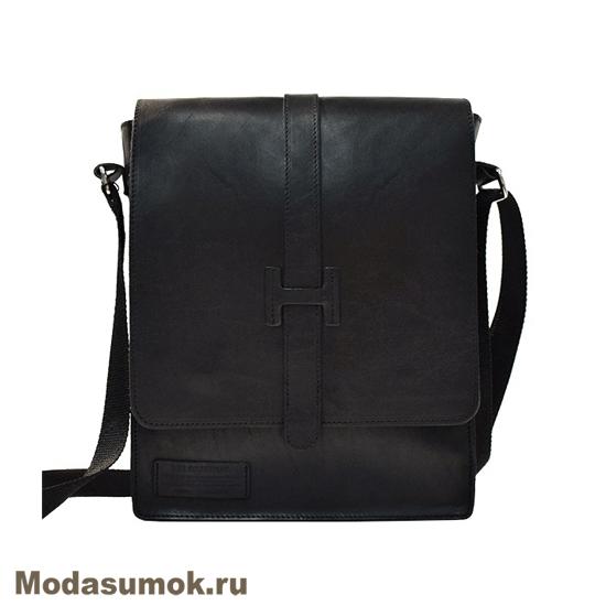 2139ff7dad9a Сумка-планшет мужская из натуральной кожи BB1 940120 черная купить в ...